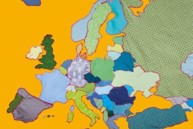 Обкладинка атласу Європи