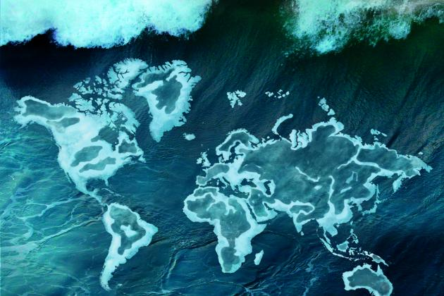 Обкладинка атласу океанів